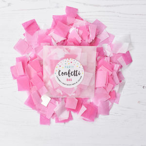 Pink Mix Party Confetti Bag