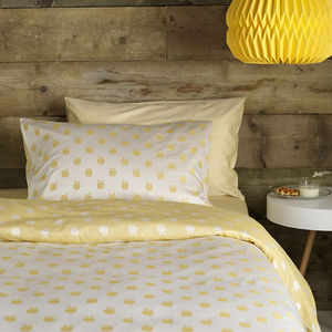 Apples Yellow Bedding Set
