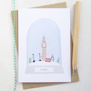 London City Christmas Card - cards & wrap
