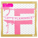 Say It With Glitter 'Let's Flamingle' Banner