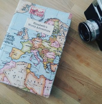 Personalised 2018 Map Diary