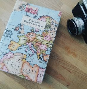 Personalised 2019 Map Diary
