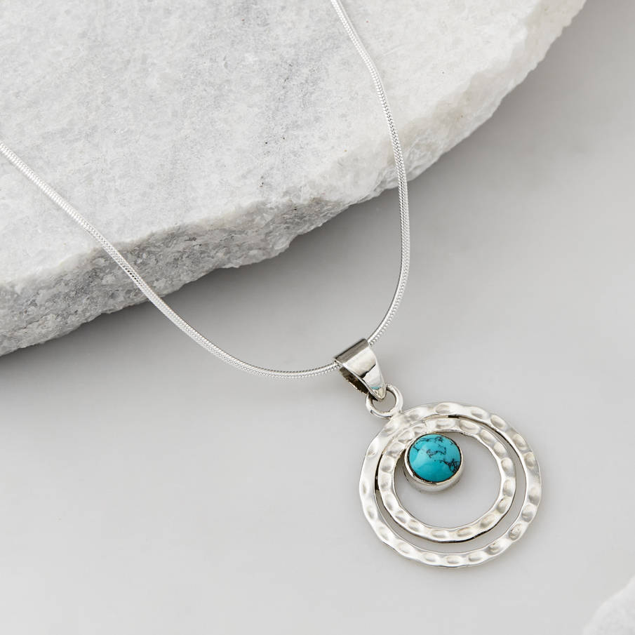 02afdffcaf0db5 infinity universe turquoise necklace by charlotte's web jewellery ...