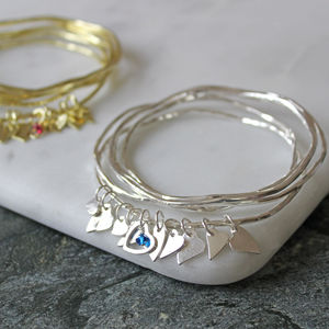 Swarovski Crystal Heart Stacking Bangles - what's new