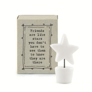 Letterbox Gift, Friends Are Like Stars