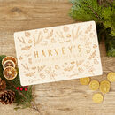 Personalised Christmas Eve Motif Box