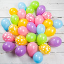 Pack Of 28 Easter Mini Balloons