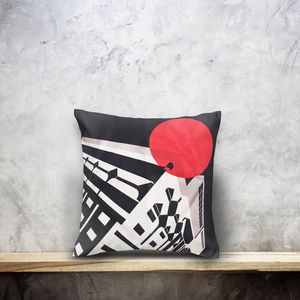 Peckham London Cotton Cushion Cover. Double Side Print
