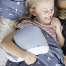 Organic Cotton Whale Cushion