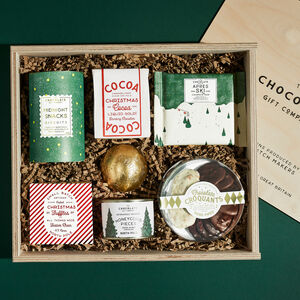 The Ultimate Christmas Chocolate Hamper