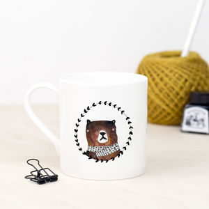 Mama Bear Fine Bone China Mug