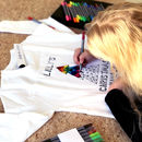 Colour Your Own Personalised Christmas Jumper Adults