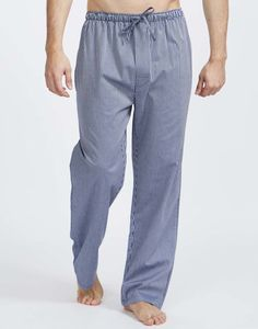 Men's Minster Stripe Cotton Pyjama Trousers - men's fashion