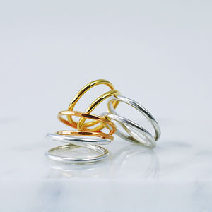 Twist Ring - rings