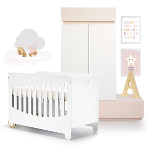 Petit Alin Cot Bed - baby's room
