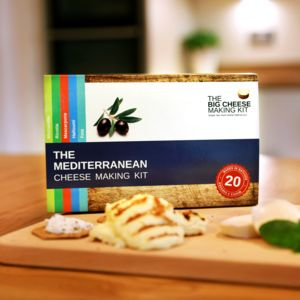 Make Your Own Mediterranean Cheese Making Kit - bread & cheese