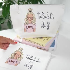 Create Your Own Personalised Cosmetic Makeup Bag Case