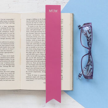 Leather Bookmark Personalised