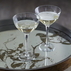 Fluted Champagne Bowls Set Of Two - home