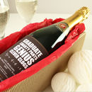 Personalised Graduation Champagne