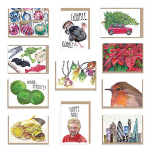 Christmas Card Variety Pack 11 Designs