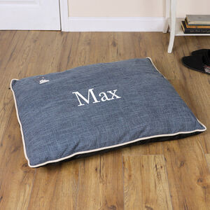 Personalised Medium/Large Dog Pillow/Mattress