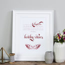 'You're My Lobster' Wedding And Valentine's Print