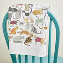 Crafty Cats Tea Towel