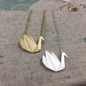 Grace Origami Necklace - necklaces & pendants