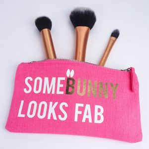 Personalised Somebunny Make Up Bag - easter gifts