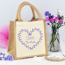 Personalised Heart 'Bride' Bag