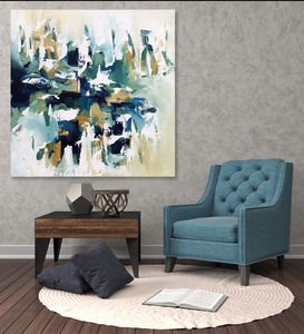 Large Abstract Painting On Canvas - paintings