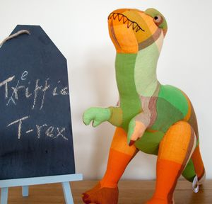 Fair Trade Triffic T Rex Soft Toy
