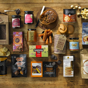Yorkshire Favourites Hamper - cakes & sweet treats