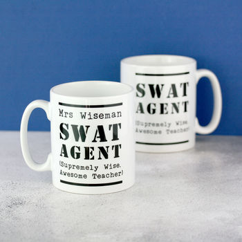 S W A T Personalised Teacher Mug