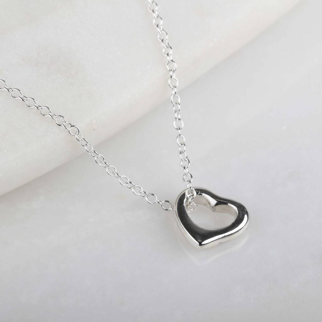 kitchen heart family jane pendant seymour amazon hearts open com necklace ss dp home