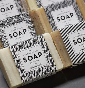 Selection Of Three Tea Soaps - bath & body