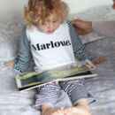 Kids Classic Name Personalised Pyjamas