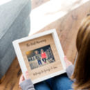 Personalised Best Mummy Or Daddy Engraved Photo Frame
