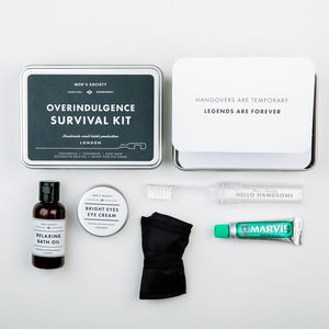Overindulgence Survival Kit - grooming gift sets