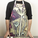 Artistic Botanical Kitchen Apron, Cooking And Baking