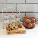 Milk Style Bottles In Crate