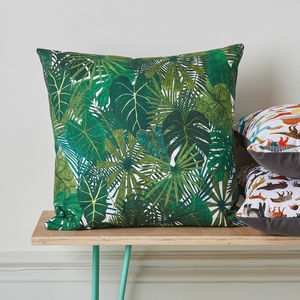 Botanical Plant Cushion