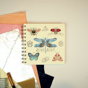 Insects And Prisms 2016/2017 Diary