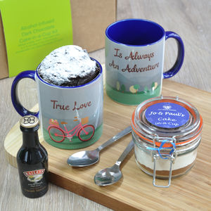 Romantic Booze Infused Mug Cake For Couples