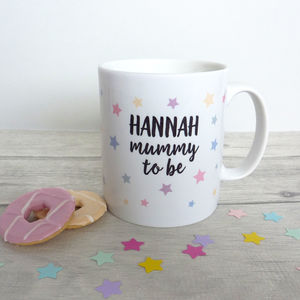 Mum To Be Personalised Mug