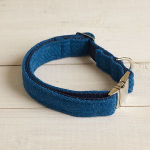 Angus Harris Tweed Dog Collar - dog collars