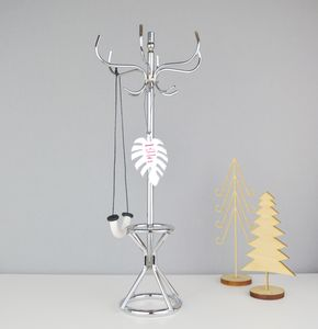 Personalised 'Coat Stand' Jewellery Holder Silver - jewellery storage & trinket boxes