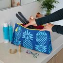 Pineapple 'Big Trip' Wash Bag
