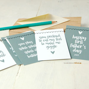 Daddy Bunting Card: Any Occasion